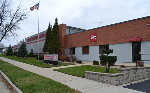 building of Superior Industrial Coating, an industrial finishing company