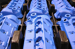 valve covers coated for the automotive industry